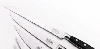 noże w kompletach